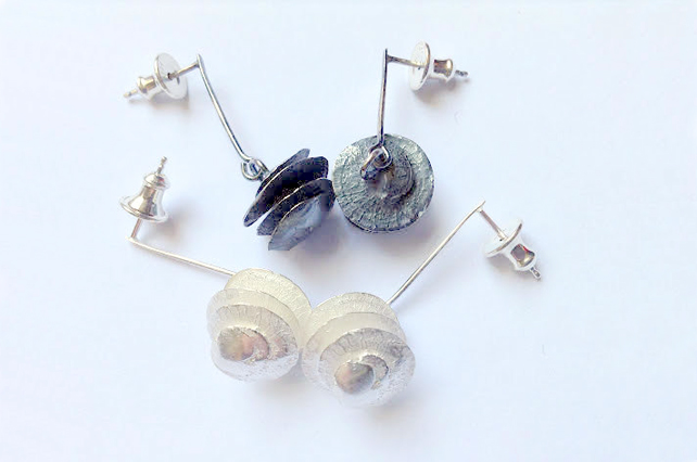 Seed head earrings